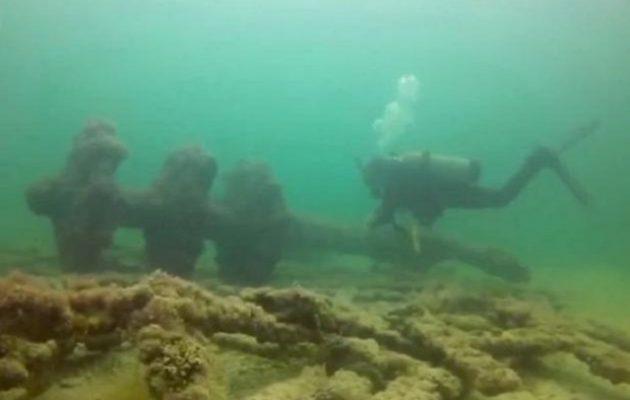 Aνακαλύφθηκαν πολεμικά πλοία που βρίσκονταν για αιώνες στο βυθό της θάλασσας στο Μεξικό (φωτο)