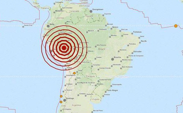 Σεισμός 7,3 Ρίχτερ στο Περού