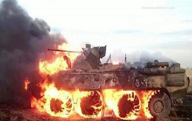Ρώσος στρατιώτης πήγε να ζεστάνει το φαγητό του και πυρπόλησε τανκ (βίντεο)