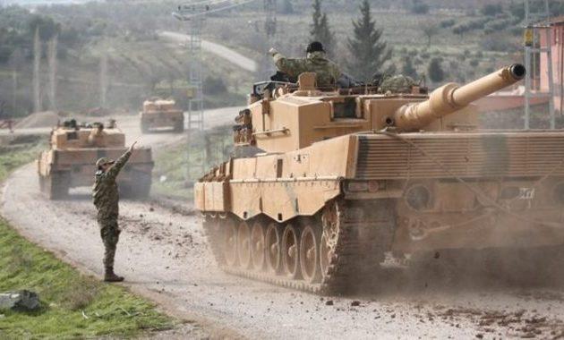 25.000 Τούρκοι και μισθοφόροι επιτίθενται σε 10.000 Κούρδους στην Εφρίν – Σε εξέλιξη η εισβολή