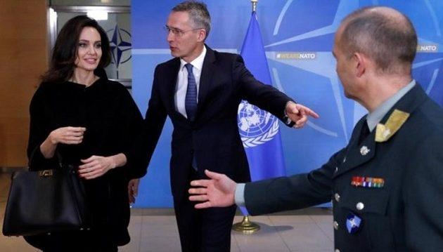 Στο ΝΑΤΟ η Τζολί: Στρατιωτικό και πολιτικό όπλο ο βιασμός