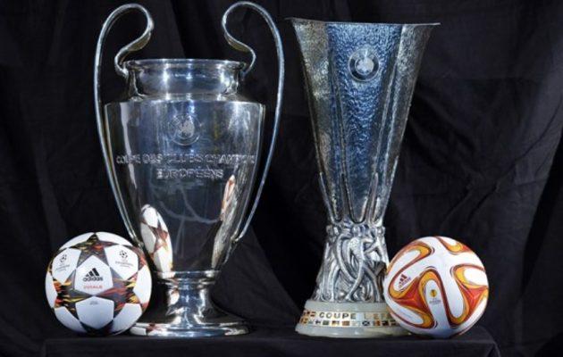 Αλλάζουν τα πάντα σε Champions και Europa League – Πώς επηρεάζονται οι ελληνικές ομάδες