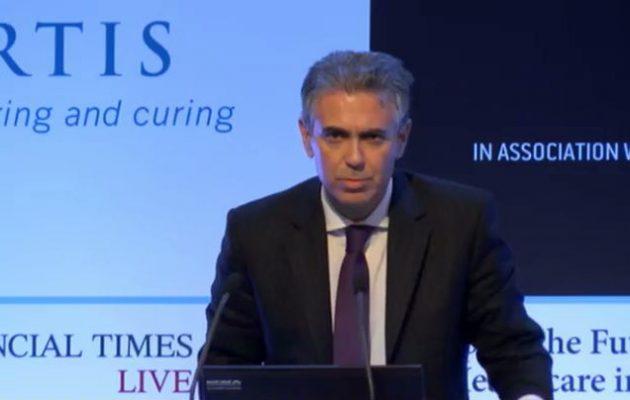 Βίντεο–ντοκουμέντο: Τι έλεγε ο Φρουζής σε στελέχη της Novartis για τις σχέσεις του με υπουργούς