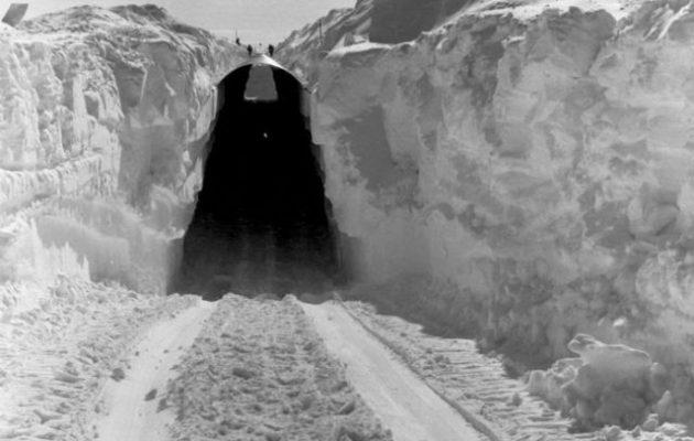 Αυτή είναι η μυστική πυρηνική βάση που αποκαλύπτεται με το λιώσιμο των πάγων (φωτο)