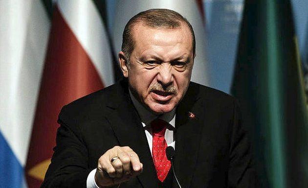 Παραλήρημα Ερντογάν με νέες απειλές κατά της Κύπρου