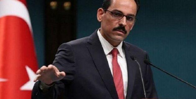 Ο εκπρόσωπος του Ερντογάν απείλησε τις ΗΠΑ εάν δεν παραδοθούν τα F-35