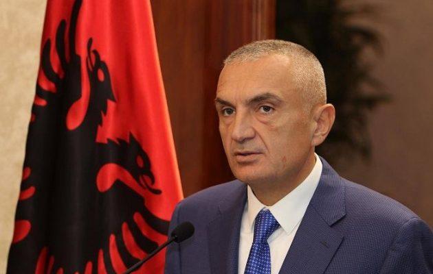 «Η Μεγάλη Αλβανία είναι ανέφικτη» λέει ο πρόεδρος της Αλβανίας