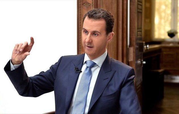 Συρία: Ο Άσαντ καταγγέλλει τις νέες κυρώσεις που επέβαλαν οι ΗΠΑ στη χώρα του