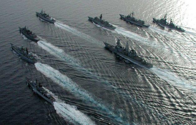 Ελληνικά πολεμικά πλοία έχουν αναπτυχθεί στα Ίμια – Φρεγάτες, πυραυλάκατοι και υποβρύχια