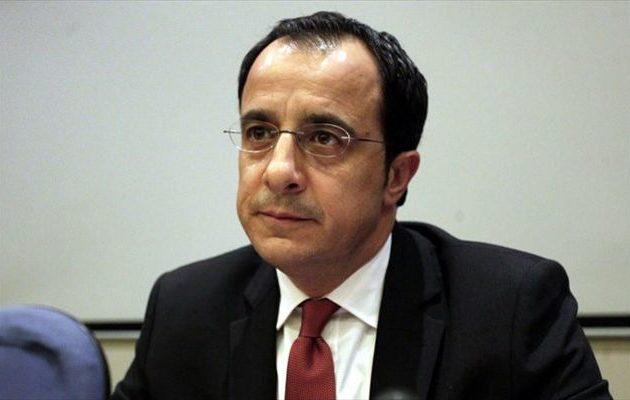 Χριστοδουλίδης: Η Τουρκία επιλέγει να κλιμακώσει την ένταση κατά της Κύπρου