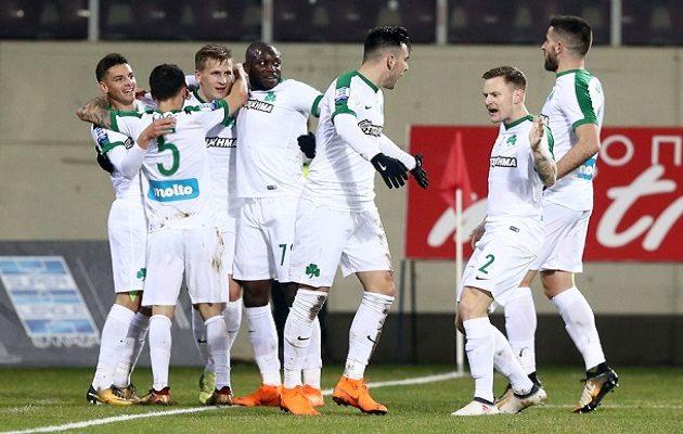 Πρώτο διπλό του Παναθηναϊκού μετά από εννιά μήνες – Νίκησε την ΑΕΛ με 1-0