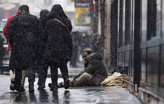 Περισσότεροι από 3.000 άστεγοι καταμετρήθηκαν σε μια νύχτα στο Παρίσι