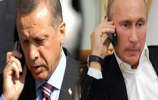 Ο Eρντογάν έδωσε εξηγήσεις στον Πούτιν για την Αγία Σοφία