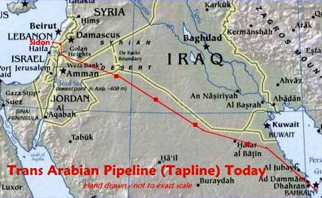 Τζιχαντιστές διακινούσαν μέσα από τον ανενεργό Δια-Αραβικό αγωγό πετρελαίου όπλα και άνδρες