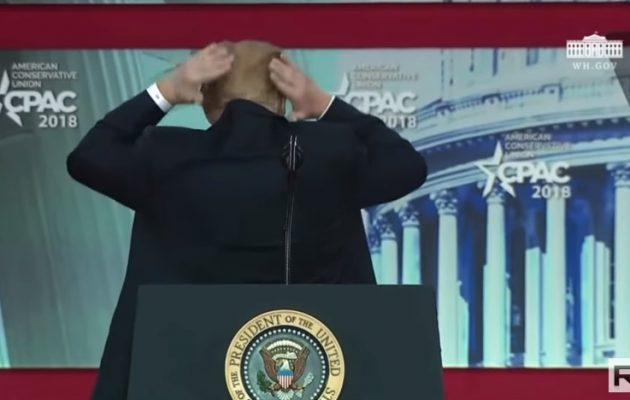 Ντόναλντ Τραμπ: «Την παλεύω με τη φαλάκρα» (βίντεο)