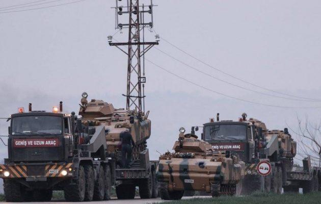 Οι Τούρκοι στέλνουν κι άλλα τεθωρακισμένα ACV-15 να πολεμήσουν τους Κούρδους στην Εφρίν
