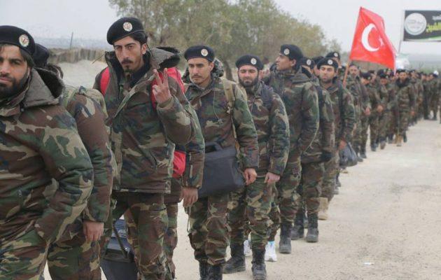 Η Τουρκία έστειλε ακόμα 500 Τουρκμένους μισθοφόρους να πολεμήσουν τους Κούρδους στην Εφρίν