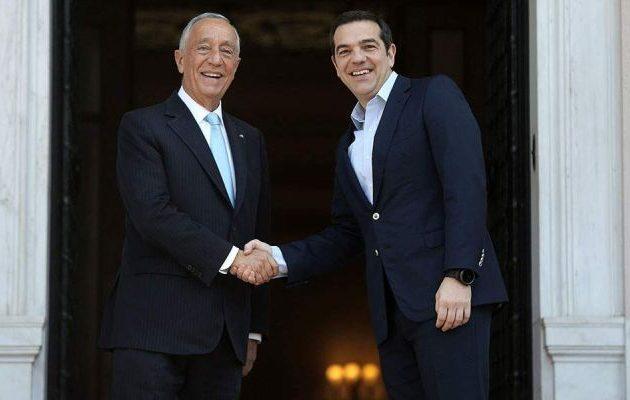 Τσίπρας: Η Πορτογαλία αποτελεί θετικό παράδειγμα για την Ελλάδα και τους θεσμούς (βίντεο)