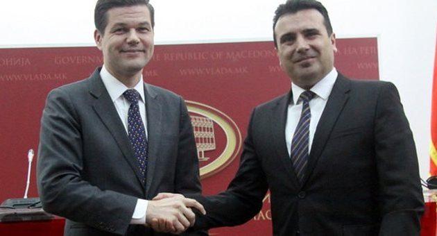 ΗΠΑ σε Ζάεφ για το όνομα των Σκοπίων: Πρέπει να συμφωνήσετε με την Ελλάδα