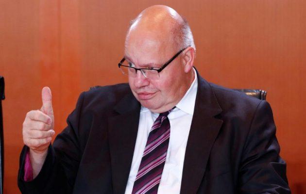 Ο Γερμανός υπουργός Οικονομίας «ονειρεύεται» να ενωθεί η ΕΕ ενάντια στις ΗΠΑ