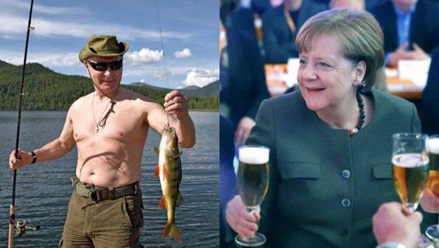Γιατί λατρεύει ο Πούτιν τις γερμανικές μπύρες – «Μου στέλνει και η Άνγκελα»