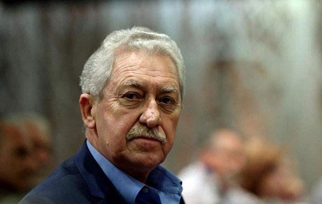 Κουβέλης: Ο Ερντογάν θα κλιμακώσει την ένταση με την Ελλάδα