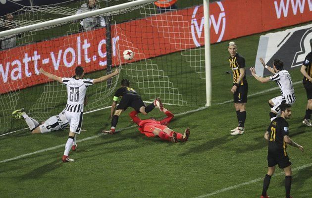 «Κανονικό το γκολ» του ΠΑΟΚ με την ΑΕΚ, υποστηρίζει ο παρατηρητής του αγώνα