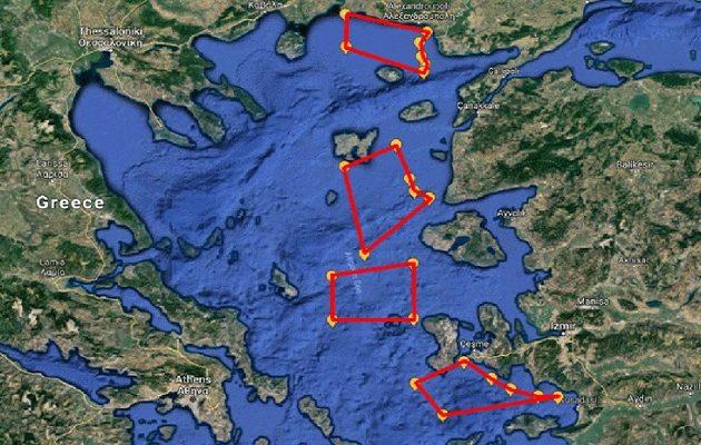 Απάντηση στους τουρκικούς «τσαμπουκάδες»: Η Ελλάδα με ΝΟΤΑΜ δέσμευσε για άσκηση το Ανατολικό Αιγαίο