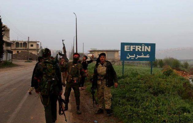 Τζιχαντιστές μισθοφόροι των Τούρκων απήγαγαν 60 χωρικούς στην κατεχόμενη Εφρίν