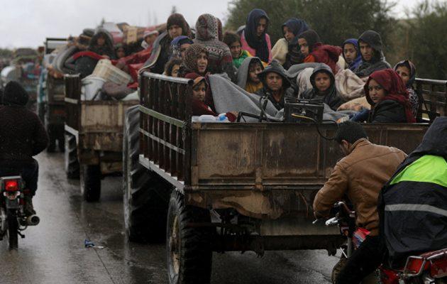 20.000 πρόσφυγες από τη Συρία στο ιρακινό Κουρδιστάν εξαιτίας της τουρκικής εισβολής «Πηγή Ειρήνης»
