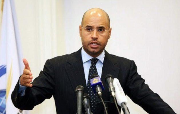 """Ο γιος του Καντάφι """"καίει"""" τον Σαρκοζί: """"Εχω σοβαρά στοιχεία εναντίον του"""