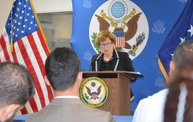 Η Αμερικανίδα πρέσβης στην Κύπρο δεν προβλέπει τουρκικούς «μπελάδες» στις γεωτρήσεις της Exxonmobil