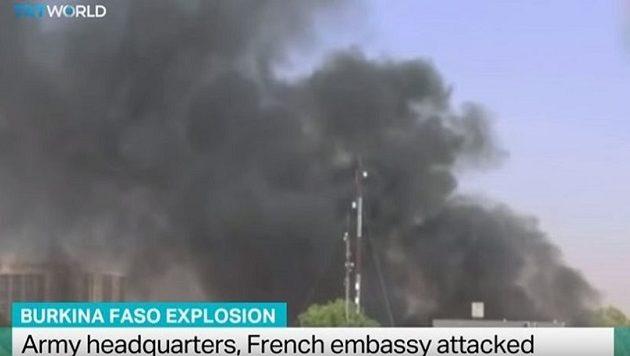 Δεκάδες νεκροί από επίθεση κατά της γαλλικής πρεσβείας στη Μπουρκίνα Φάσο