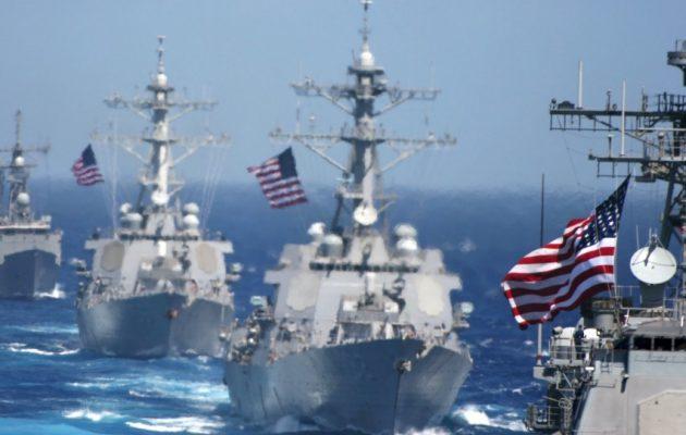Ο 6ος Στόλος κατεβαίνει «ασπίδα» στα πλοία της ExxonMobil – Άφωνος ο Ερντογάν κοιτά τη Μεγάλη Αρμάδα