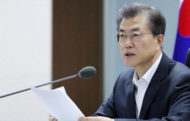 Εφικτή μια τριμερής Σύνοδος με ΗΠΑ-Βόρεια Κορέα 109cd5601ae