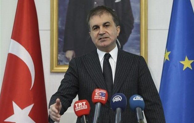 Έχουν πονέσει πολύ οι Τούρκοι από την καταδίκη της ΕΕ – Ο Ομέρ Τσελίκ κάνει εξωτερική πολιτική με fake news