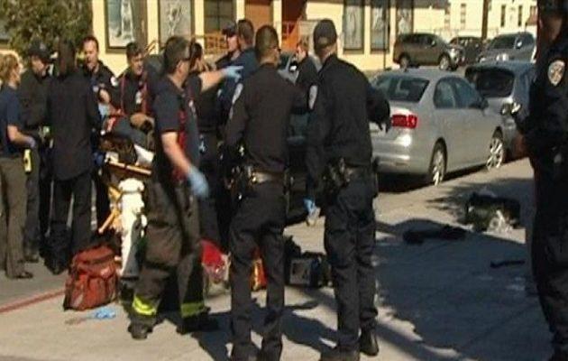 Αυτοκίνητο έπεσε πάνω σε πεζούς στο Σαν Φρανσίσκο – Τέσσερις σοβαρά τραυματίες