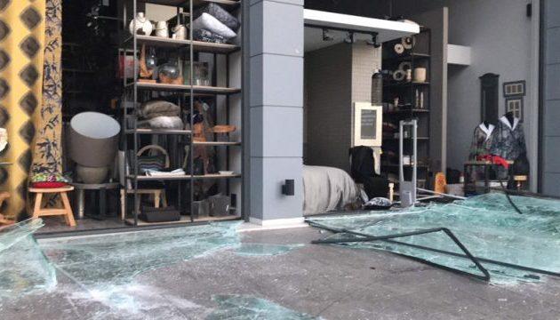 Ισχυρή έκρηξη σε κατάστημα με είδη σπιτιού στο Χαλάνδρι (φωτο)