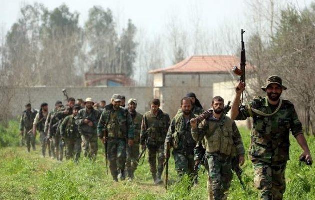 Ο συριακός στρατός ετοιμάζεται να εκκαθαρίσει τη νοτιοδυτική Συρία από τους τζιχαντιστές