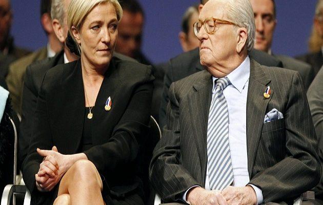 Εξοργισμένος ο Ζαν Μαρί Λεπέν με την κόρη του  για την αλλαγή ονόματος στο κόμμα