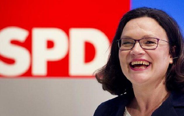 Γερμανία: Νέα ηγεσία στους Σοσιαλδημοκράτες – Η Νάλες στο τιμόνι του SPD