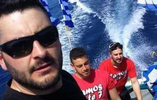 «Υψώσαμε τις σημαίες και ρίξαμε και στεφάνι στη θάλασσα προς τιμήν του Μπαλταδώρου» (βίντεο)