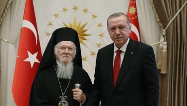 Τι είπε ο Βαρθολομαίος με τον Ερντογάν στη σαραντάλεπτη συνάντησή τους