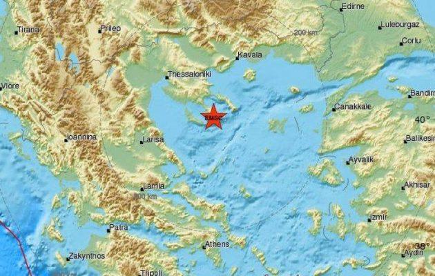 Σεισμός 4,6 Ρίχτερ στη Χαλκιδική