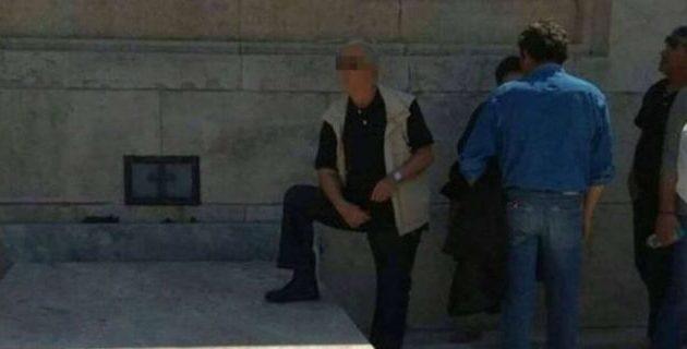 Τι λένε συνδικαλιστές της ΔΕΗ για τον άνδρα που πάτησε το μνημείο του Άγνωστου Στρατιώτη (φωτο)