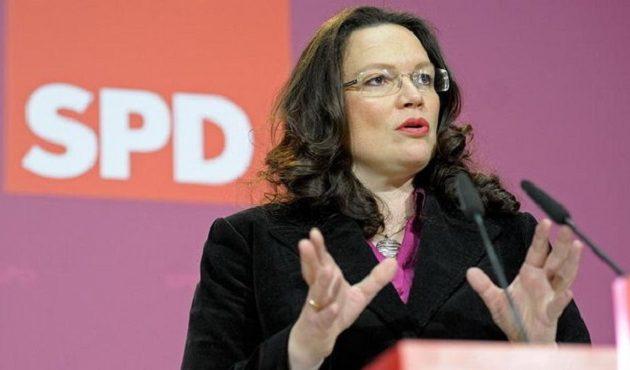 Δημοσκόπηση κόλαφος για τη νέα πρόεδρο  του SPD – Τι λένε οι Γερμανοί