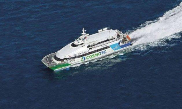 Βλάβη σε υδροπτέρυγο ανοιχτά της Αίγινας με 332 επιβάτες