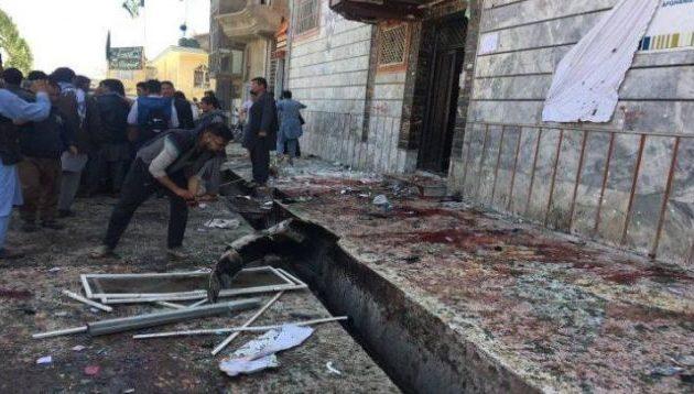Το Ισλαμικό Κράτος ανέλαβε την ευθύνη για το μακελειό στην Καμπούλ – Στους 60 οι νεκροί