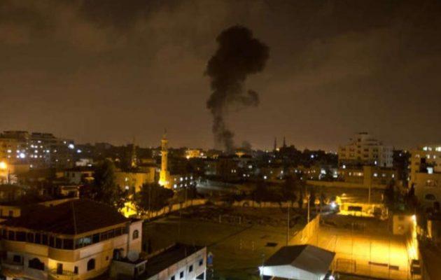 Το Ισραήλ βομβάρδισε στόχους της Χαμάς στη Λωρίδα της Γάζας