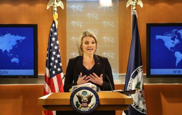Το Στέιτ Ντιπάρτμεντ συνεχάρη το υπουργείο Εξωτερικών μας για την απελευθέρωση Κούκλατζη-Μητρετώδη